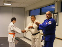 Christopher promoted to Green Belt